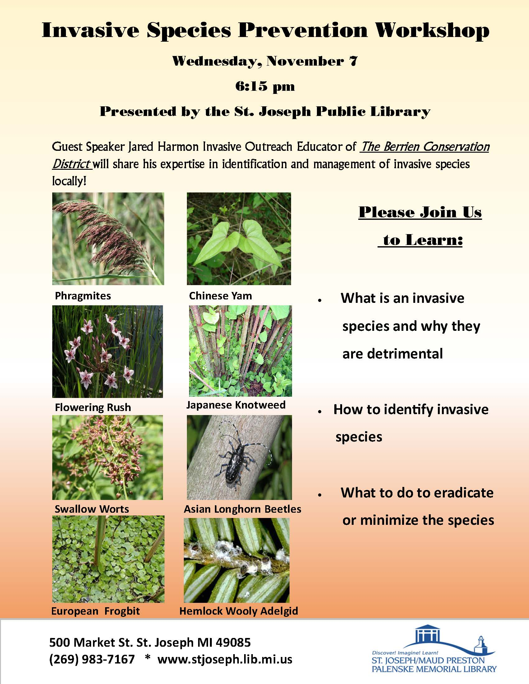 Berrien Conservation District - Invasive Species